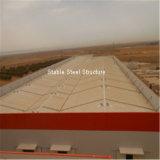 África prefabricó el edificio industrial de la fábrica de la estructura de acero