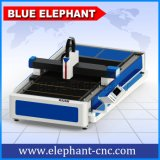 500W de alimentación automática de corte láser máquina de corte láser de fibra, el precio de la corte de metal