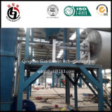 Maquinaria ativada madeira do carbono