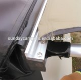 高品質のRipstopのキャンバスの夏車の側面の日除け