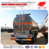 Трейлер тележки топливозаправщика мазута алюминиевого сплава 12 Уилеров