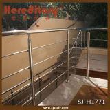 Disegno d'acciaio dell'inferriata del cavo del balcone dell'acciaio inossidabile di esterno 316 (SJ-H1830)