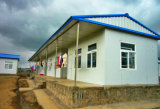 기숙사 단위 (KXD-49)를 위한 조립식 가벼운 강철 구조물 집