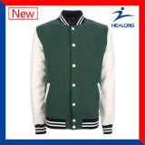 Chaquetas del béisbol de la insignia del engranaje al por mayor de la ropa de Healong China de los hombres de encargo del guarda-brisa