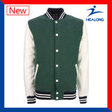 Healong 중국 도매 의복 기어 주문 로고 바람막이 남자의 야구 재킷