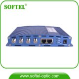Maître coaxial d'intérieur d'Eoc de modem câble avec le port d'Ethenet de 2 gigabits