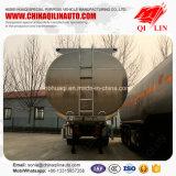 Type d'essence de pétrole de camion-citerne remorque diesel de col de cygne semi