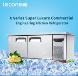 Коммерчески замораживатель кухни верхней части таблицы