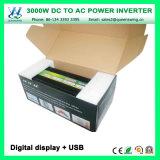 Inversores da potência solar do carro de DC24V 3000W com indicação digital (QW-M3000)