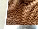 Almofada refrigerar evaporativo para refrigerar industrial