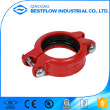Combinaison d'incendie Ductile Iron Grooved Tee Pipe Fittings