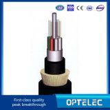 すべての誘電性のSelf-Supporting光学Cable/ADSSは72のファイバーをケーブルで通信する
