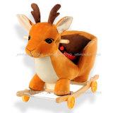 Популярные Rocking Horse со звуком игрушки для детей