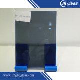 5mm 건물을%s 편평한 진한 파란색 사려깊은 유리창 유리