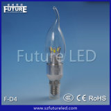3W CER RoHS Approved Future LED Candle Light