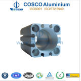 Цилиндр алюминия Cosco/алюминиевых с подвергать механической обработке CNC