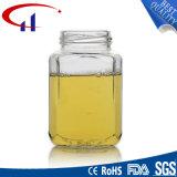 recipiente 250ml de vidro branco super para o alimento (CHJ8085)