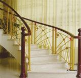 Новый дизайн Arc лестницы , стальной деревянные лестницы (L-44)