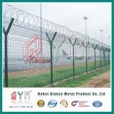 Безопасности сварной сетки ограждения аэропорта /аэропорт тюрьме колючей проволоки