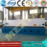 Máquina que pela (CNC) de la guillotina hidráulica de QC11y (k) -8X6000