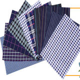 Tissu de chemise de modèle de vérification teint par filé de T/C