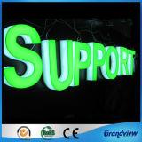 Super Bright allumé complet de la publicité de l'acrylique Lettre (signe de décoration en 3D)