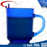 tazza di vetro dell'acqua di migliore colore blu di vendita 220ml (CHM8128)