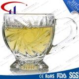 100ml vendent la cuvette en verre transparente pour le café (CHM8149)