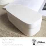 _E barato de madera de encargo de la venta al por mayor del precio de la caja de embalaje del regalo de la corteza de árbol de Hongdao
