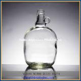 1 Gallonen-Glasprüfspule-Bierflasche mit Schutzkappe