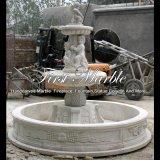 De witte Fontein van de Travertijn voor Gift mf-514