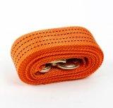 Corda da cinta do reboque da fibra do Polypropylene de uma camada dobro de 5 toneladas com ganchos forjados