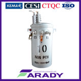 13.2kv 10kVA de Olie Immesed Pool zette de Transformator van Csp van de Enige Fase op