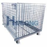 Industrial Wire Mesh démontable conteneur pliable