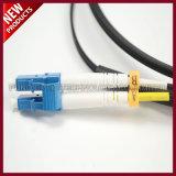 PDLC IP67 modo a dos caras del LC al solo impermeabilizan el cable al aire libre óptico de la corrección de fibra