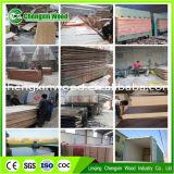 Buena calidad 18mm construcción de madera contrachapada / de carpintería con Competitiva