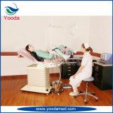 Table d'examen de gynécologie avec tiroirs