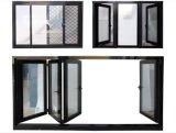 Vitres coulissantes en aluminium double vitrage de bonne qualité
