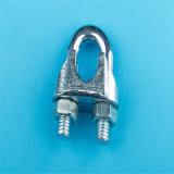 Galv Malleable Iron Steel DIN741 Wire Rope Clip