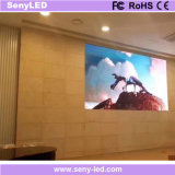 Pared video a todo color de interior de la pantalla LED de la visualización de LED del arreglo