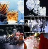 Fábrica de máquina do fabricante de gelo do cubo