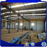 Estructuras de acero del diseño de la luz del bajo costo para el almacén (Q235)