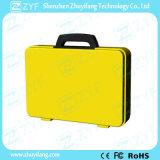 Movimentação feita sob encomenda do flash do USB da mala de viagem para o presente relativo à promoção (ZYF5050)