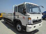 중국 HOWO 4X2 가벼운 화물 트럭 짐 8 톤
