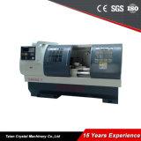 Большой патрон токарный станок с ЧПУ Cjk6150b-1*1000мм станок Siemens 808d