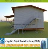 Diseño de construcción de fabricación de paneles prefabricados de acero Aula