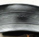 Tubo interno de la motocicleta normal de la calidad (300/325-18)