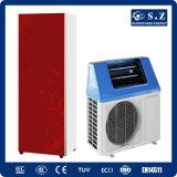 Água quente doméstica 60deg. C 220V 5kw 260L, 7kw 300L, 9kw 350L Economize 80% Energia Cop5.32 Bomba de calor de divisão de ar Aquecedor solar de energia solar