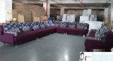 Мебель салона, самомоднейшая софа, софа ткани формы u (NG920)