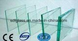 Vidro de flutuador desobstruído/vidro matizado com Ce